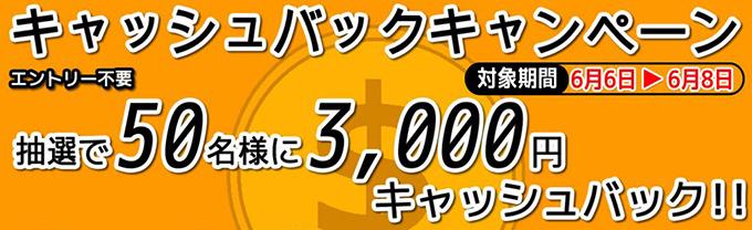 わさびの日記念カップキャッシュバックキャンペーン